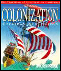 Game Box Cover - Sid Meier's Colonization
